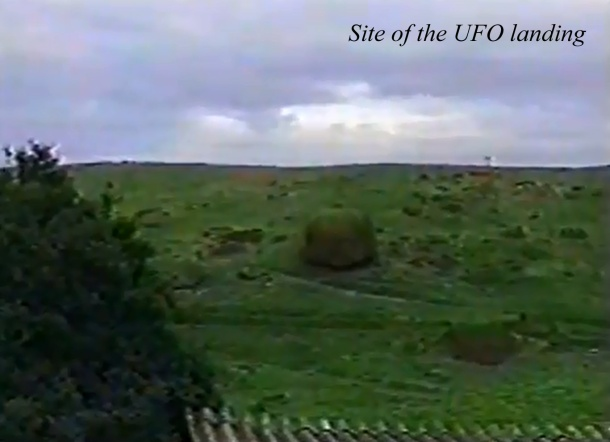 Site of the UFO landing