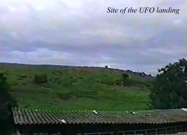 Site of UFO landing in Itupepa, S.P., Brazil