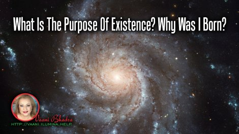 What Is The Purpose Of Existence? Why Was I Born?