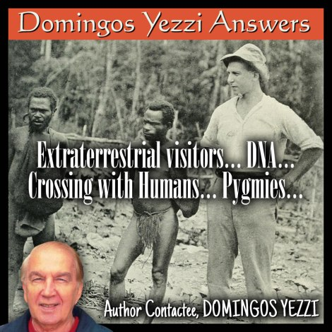 Extraterrestrial visitors… DNA… crossing with humans… Pygmies…