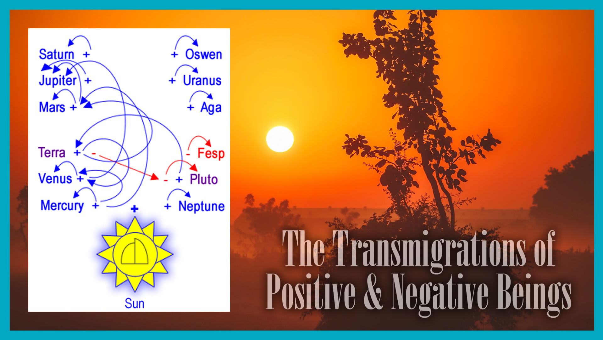 The Transmigration of Positive and Negative Beings